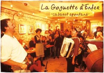 La Goguette d'enfer, cabaret spontané - crédit photo Doumé